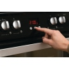 Hotpoint Ultima HUI614K Induction Electric Cooker Double Oven