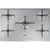 Smeg Linear PX750 Stainless Steel 5 Burner Gas Hob