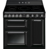 Smeg Victoria TR93IBL 90cm Electric Induction Range Cooker