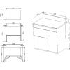 Smeg Victoria TR93P 90cm Dual Fuel Range Cooker