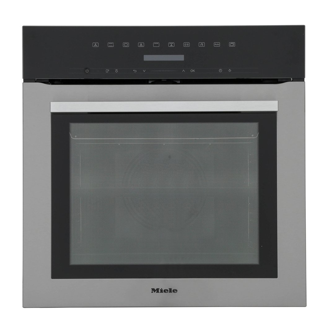 Miele ContourLine H7164BP CleanSteel Single Built In Electric Oven