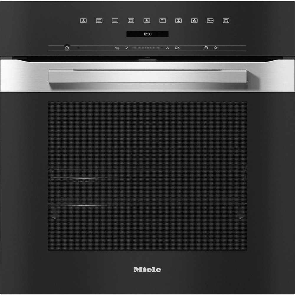 Miele PureLine H7260BP CleanSteel Single Built In Electric Oven