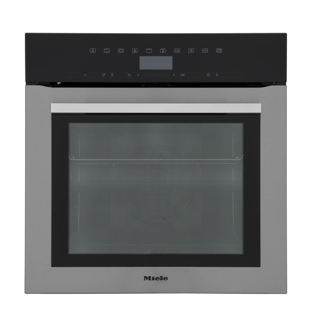 Miele ContourLine H7364BP CleanSteel Single Built In Electric Oven