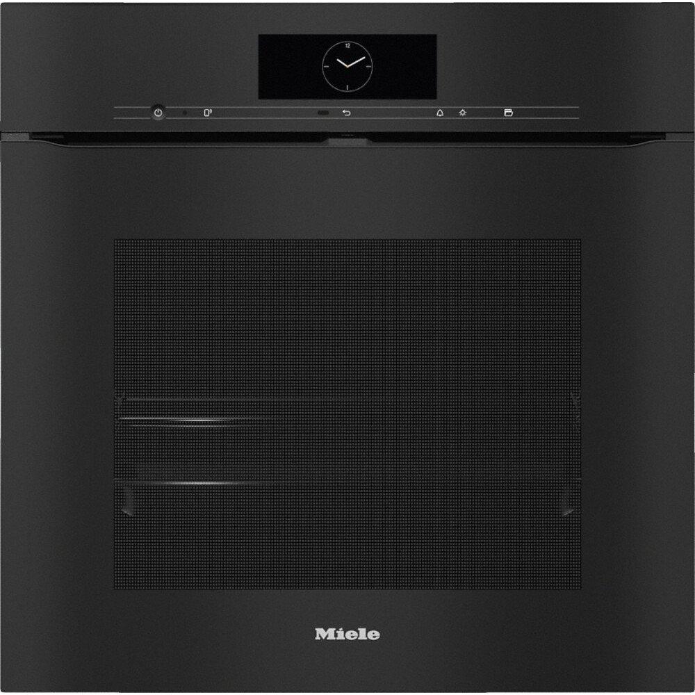 Miele H7860BPX ArtLine Obsidian Black Single Built In Electric Oven