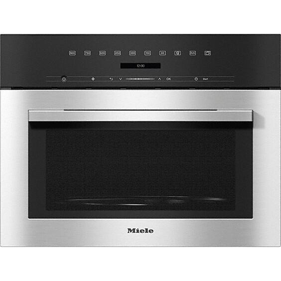 Miele ContourLine M7140TC CleanSteel Built In Microwave