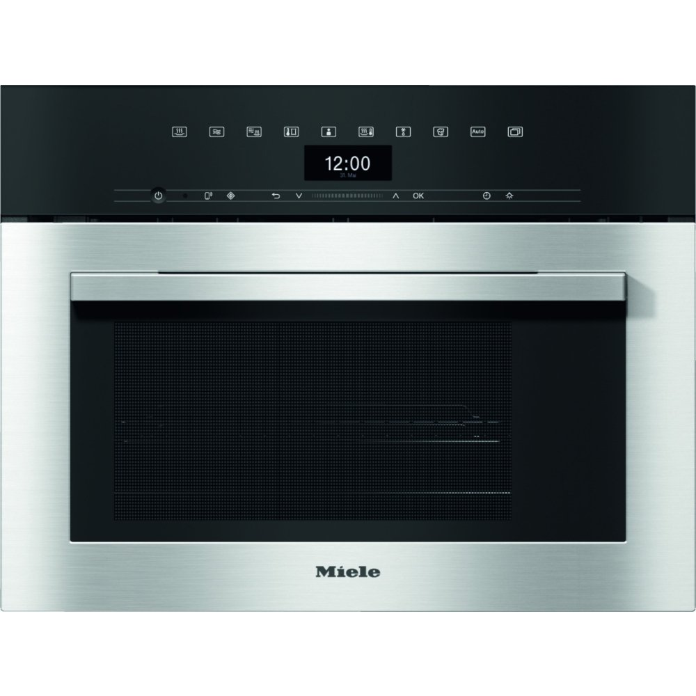 Miele ContourLine DGM7340 CleanSteel Steam Oven with Microwave