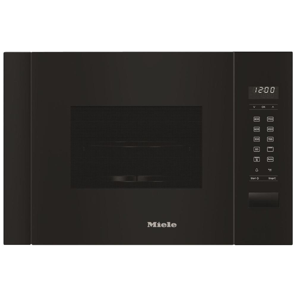 Miele M2224SC Obsidian Black Built In Microwave with Grill
