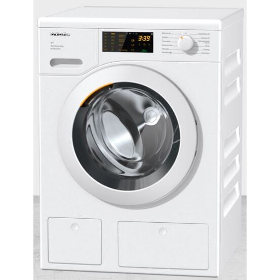 Miele WCD660 TwinDos Lotus White - Graphite Door Washing Machine