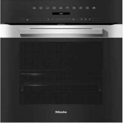 Miele H7262BP EDST CleanSteel Single Built In Electric Oven