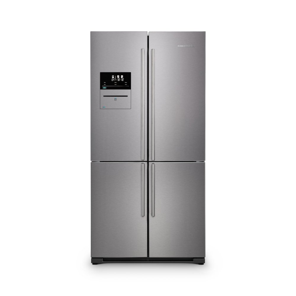Rangemaster RSXS19SS/C Stainless Steel with Chrome Trim American Fridge Freezer