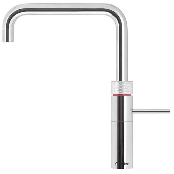 Quooker PRO3 Fusion Square Chrome 3 in 1 Boiling Water Tap