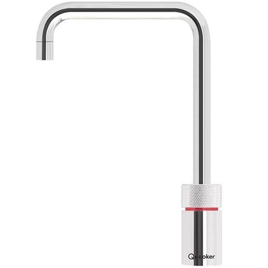 Quooker PRO3 Nordic Square Chrome (excludes Mixer Tap) Boiling Water Only Tap