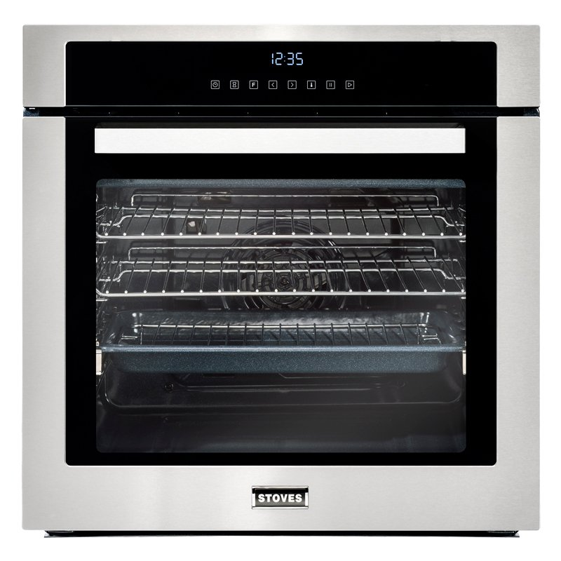 Stoves SEB602TCC Stainless Steel Single Built In Electric Oven