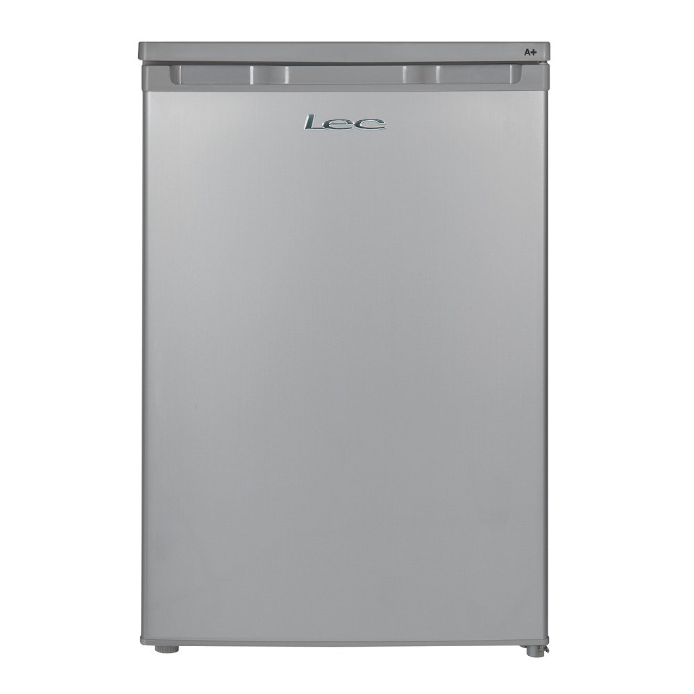 Lec R5511S Silver Fridge with Ice Box