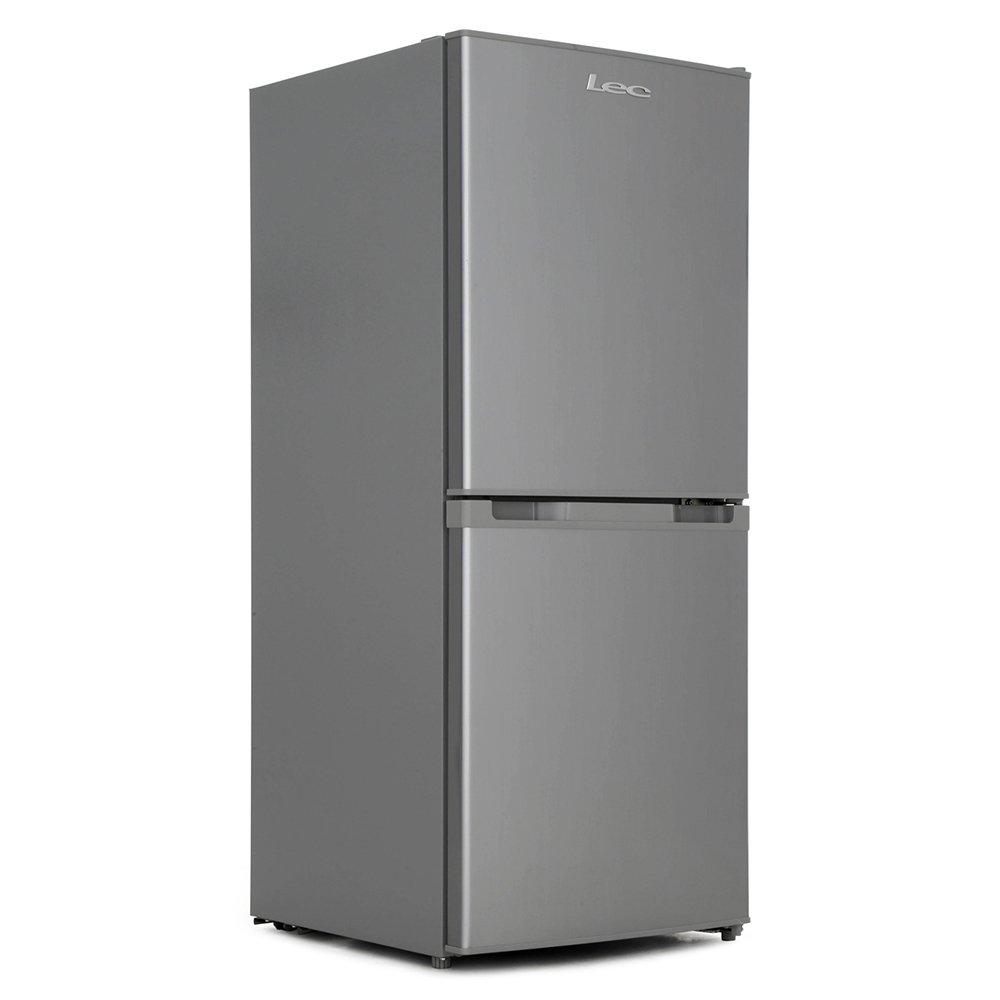 Lec T5039S Silver Static Fridge Freezer