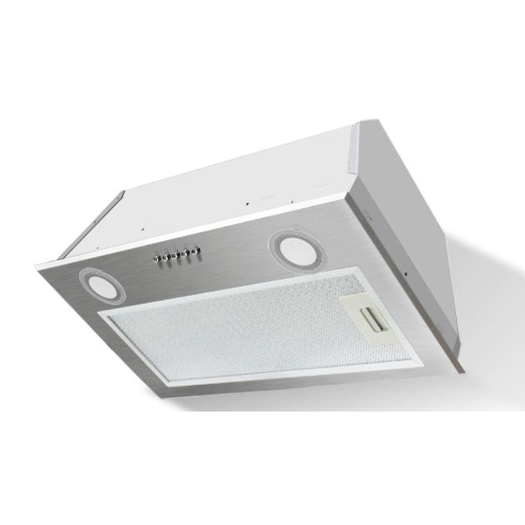 Stoves 60 UCH Silver Canopy Hood