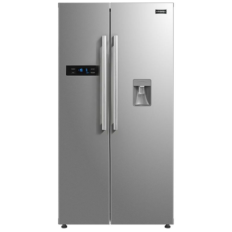 Stoves SXS909WTD Stainless Steel American Fridge Freezer