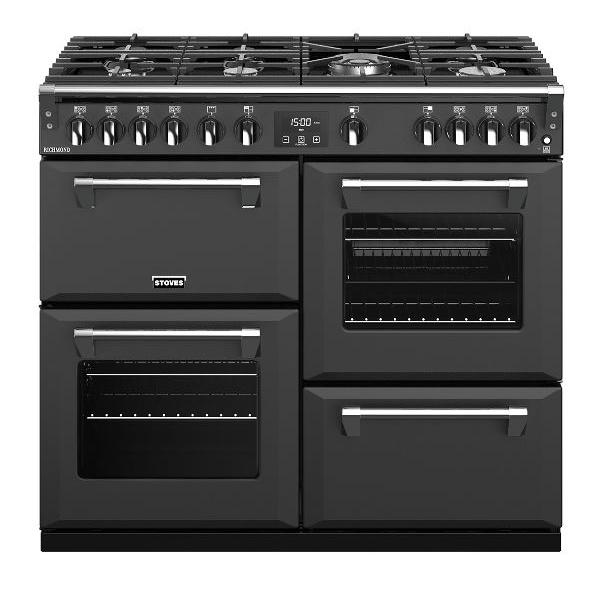 Stoves Richmond S1000G Anthracite 100cm Gas Range Cooker