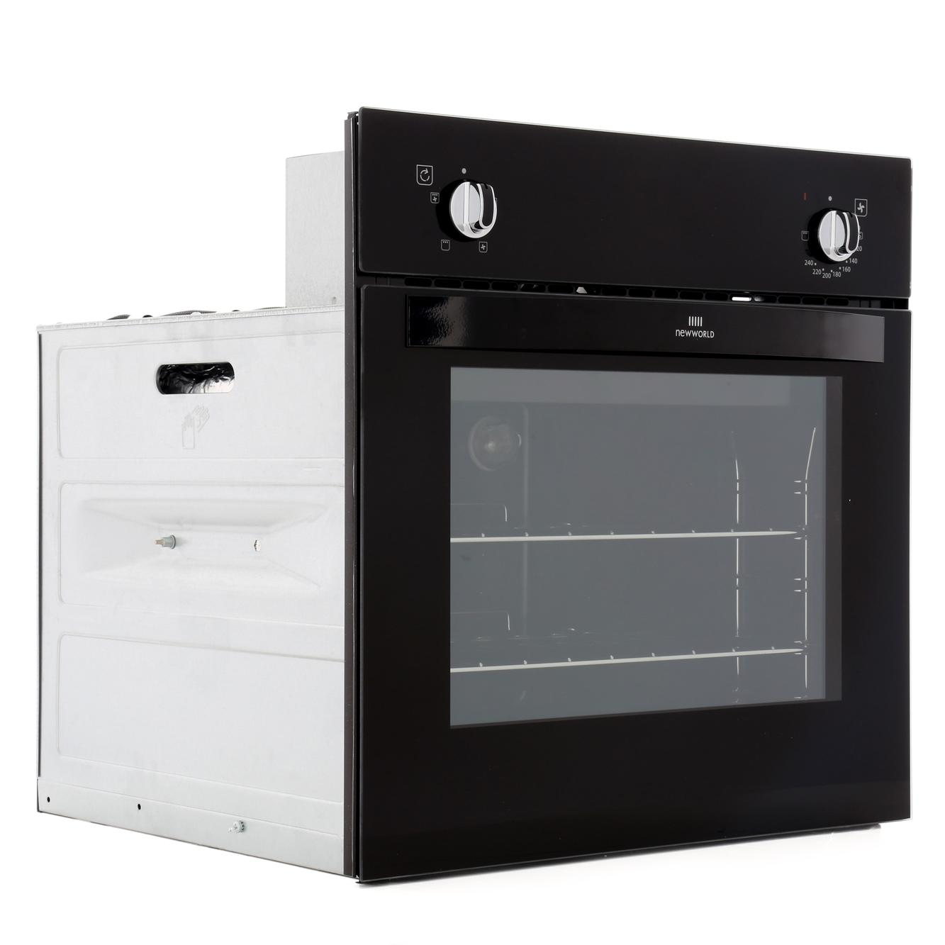 buy new world nw601f black single built in electric oven. Black Bedroom Furniture Sets. Home Design Ideas