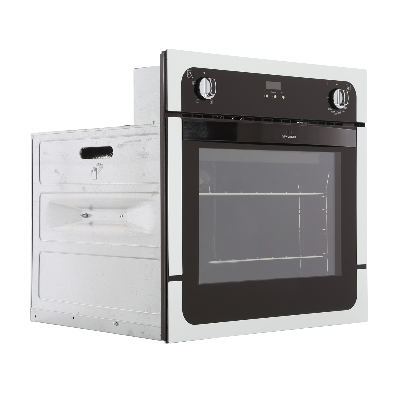 Single Electric Stove ~ Buy new world nw fp white single built in electric oven