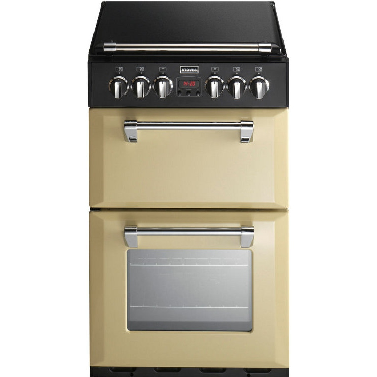 Stoves Richmond 550DFW Champagne Dual Fuel Cooker with Double Oven