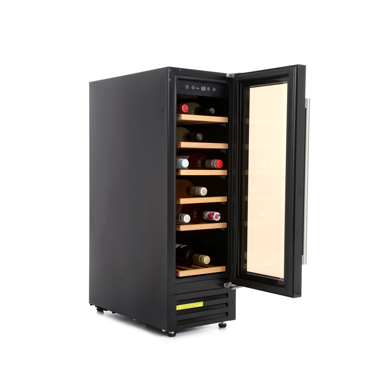 Buy new world 300blkwc wine cooler 444443282 black for Best wine fridge brands