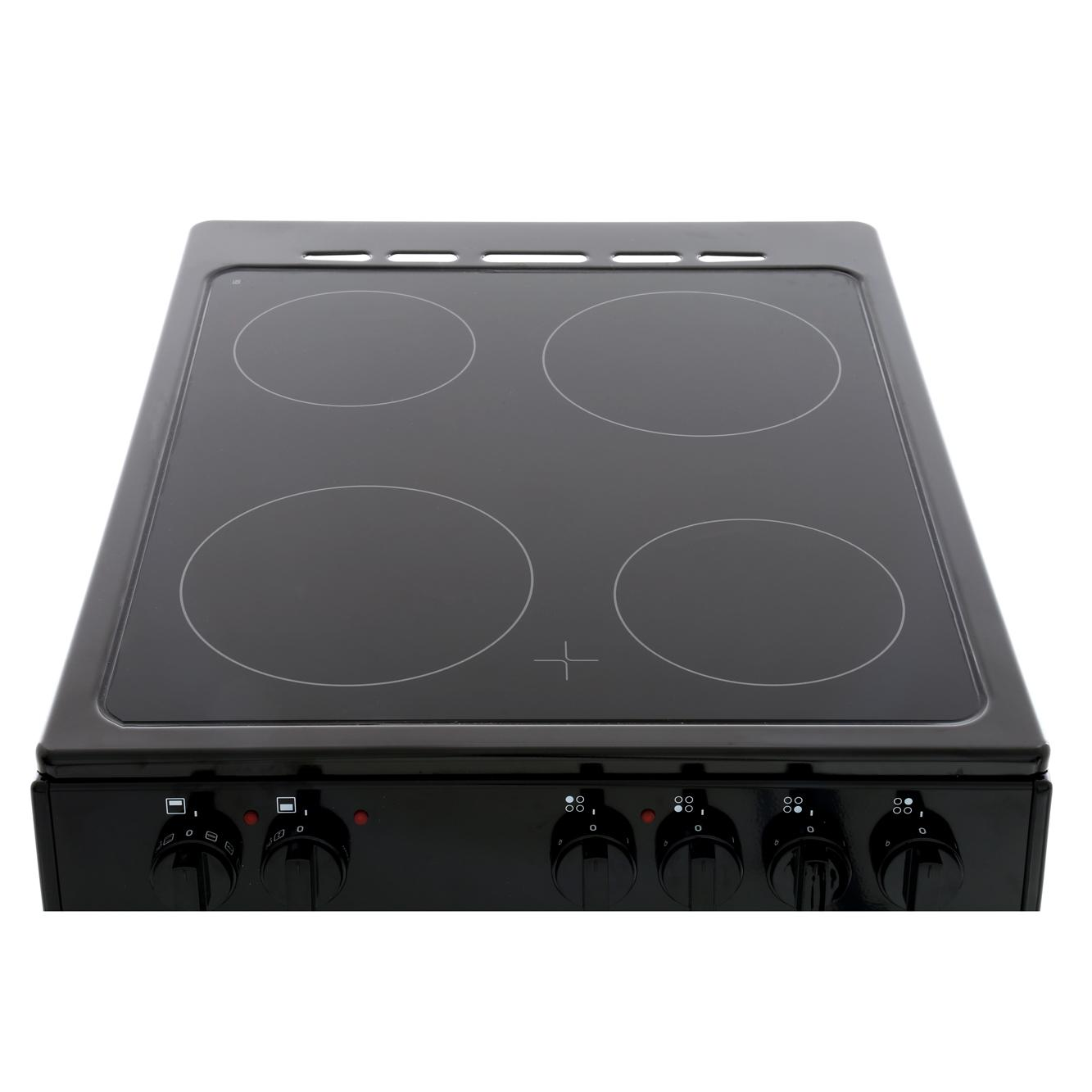 Buy Belling Fs50edofc Black Ceramic Electric Cooker With