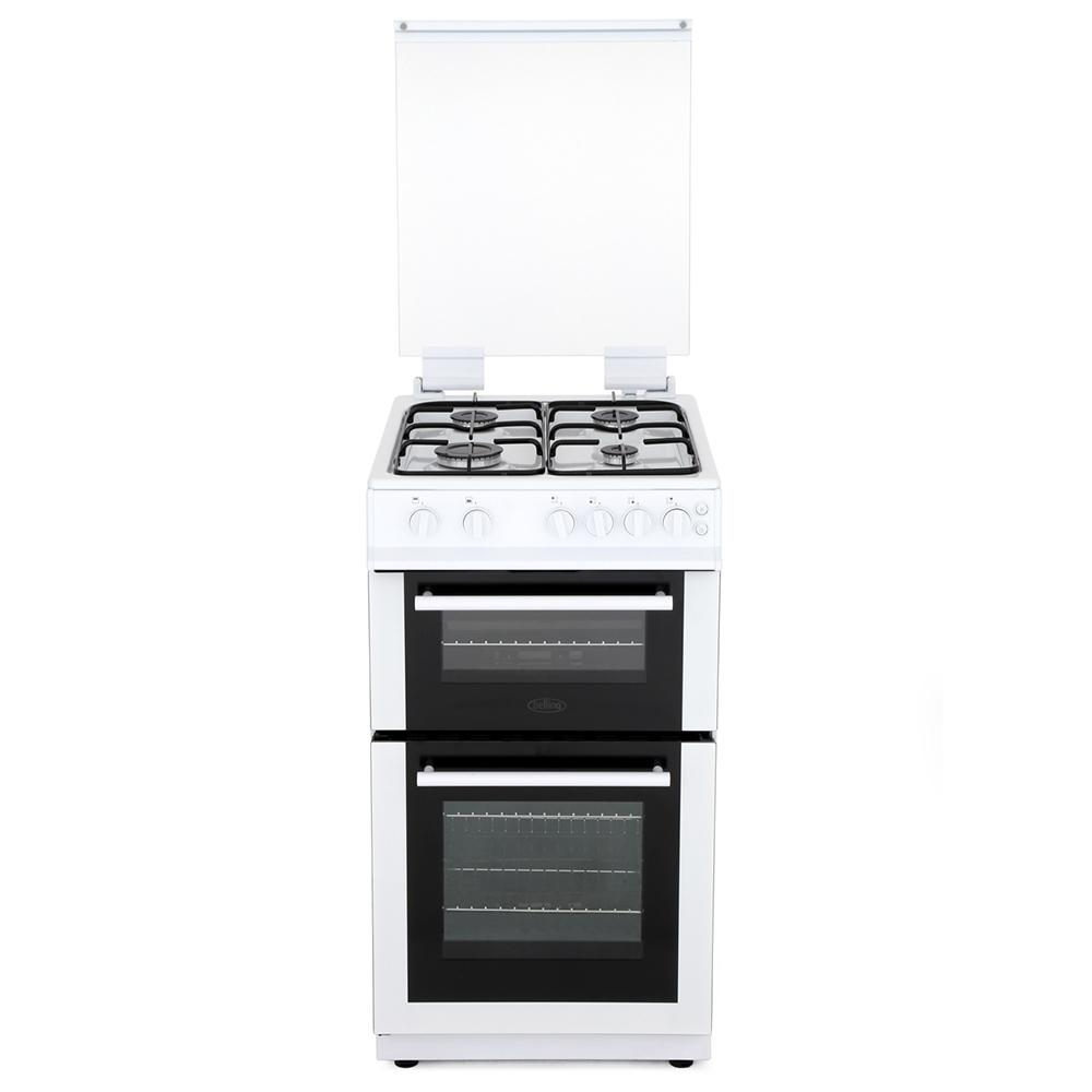 Buy Belling Fs50gdol White Gas Cooker With Double Oven 444444001