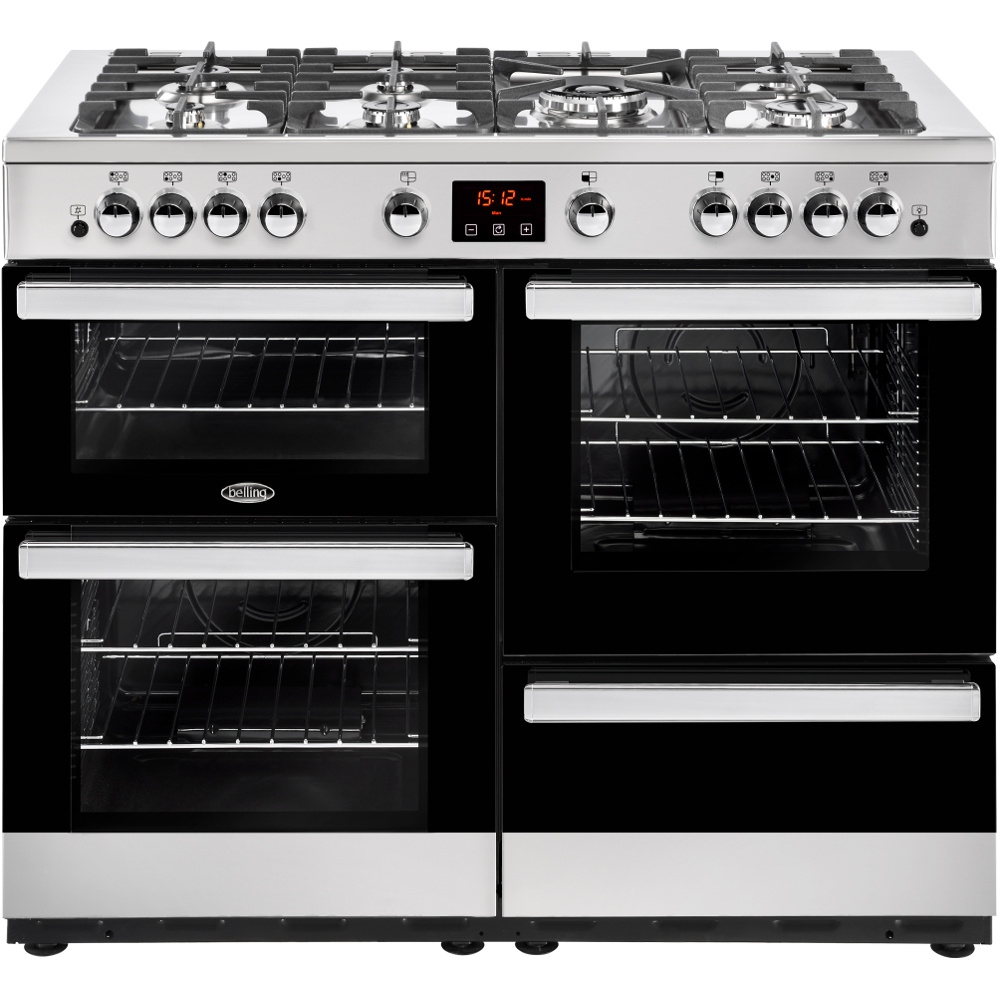 Belling Cookcentre 110G Stainless Steel 110cm Gas Range Cooker