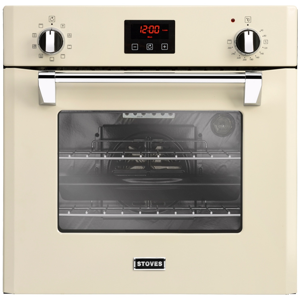 buy stoves st richmond 600mf cream single built in electric oven rh markselectrical co uk Bosch Appliances KitchenAid Appliance Manuals