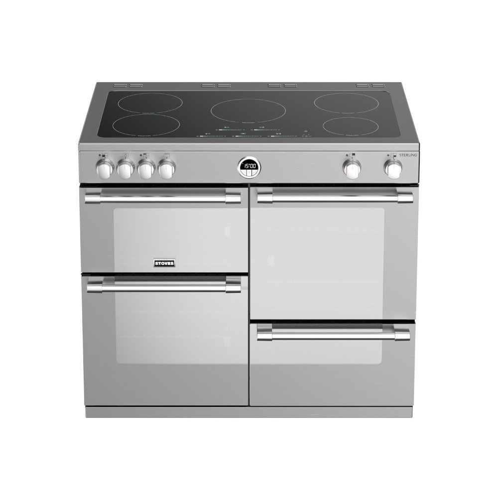 Buy Stoves Sterling S1000ei Stainless Steel 100cm Electric