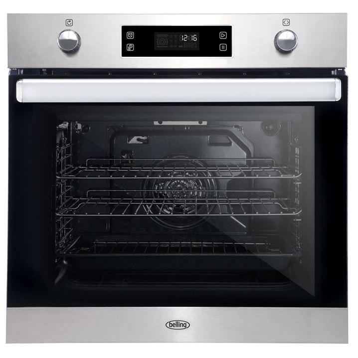 Belling BI602MFPY Stainless Steel Single Built In Electric Oven