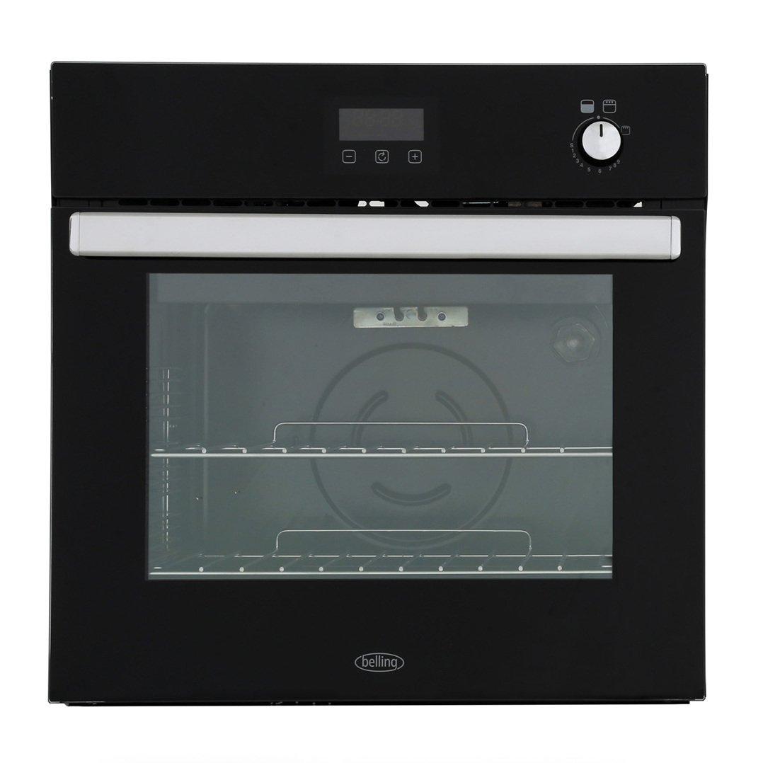 Belling BI602G Black Single Built In Gas Oven