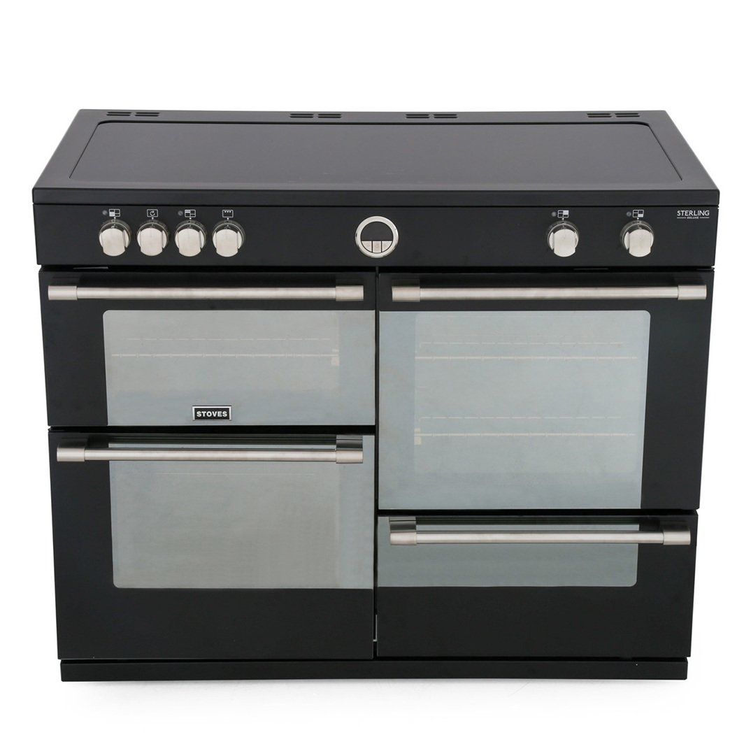 Stoves 110cm Electric Induction Range Cooker + 110cm Chimney Hood