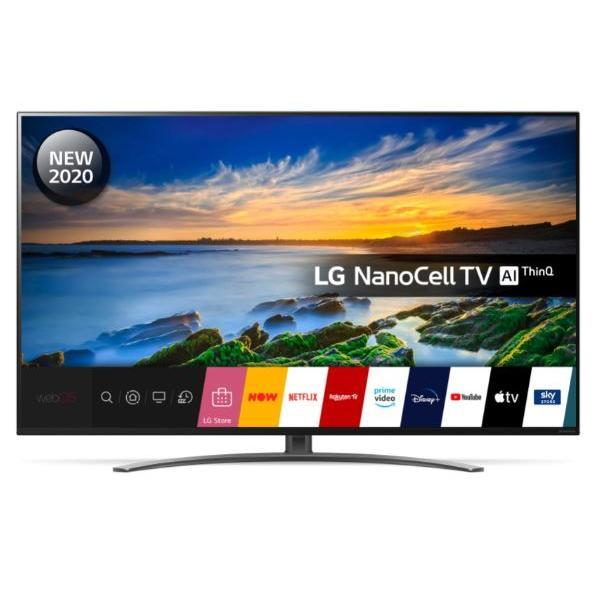 """LG 55NANO866NA 55"""" NanoCell 4K Smart Television"""