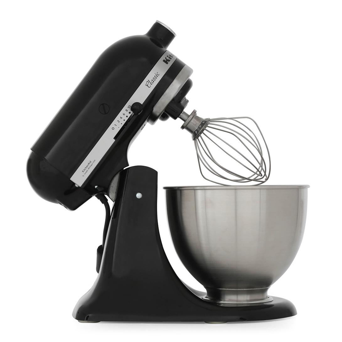Buy KitchenAid 5K45SSBOB Food Mixer - Onyx Black | Marks