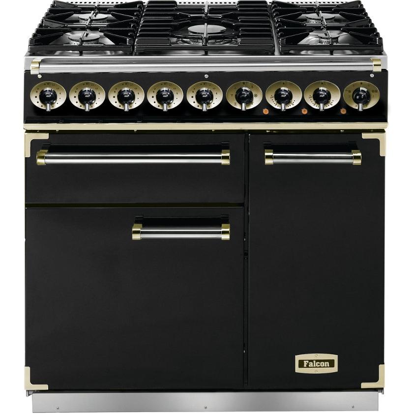 buy falcon falcpack587 90cm dual fuel range cooker pack. Black Bedroom Furniture Sets. Home Design Ideas