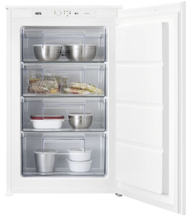 AEG ABE688E1LS Low Frost Built In Freezer