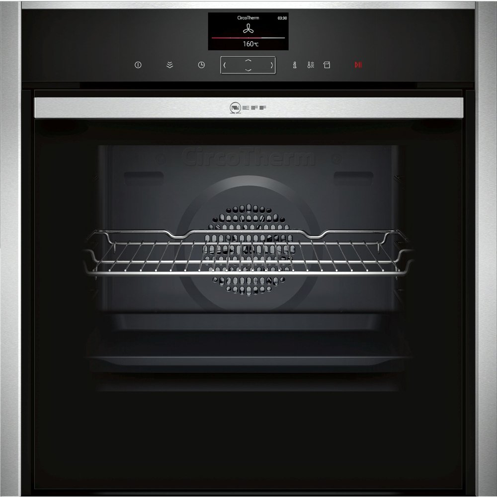 Neff N90 B47VS34H0B Single Built In Electric Oven