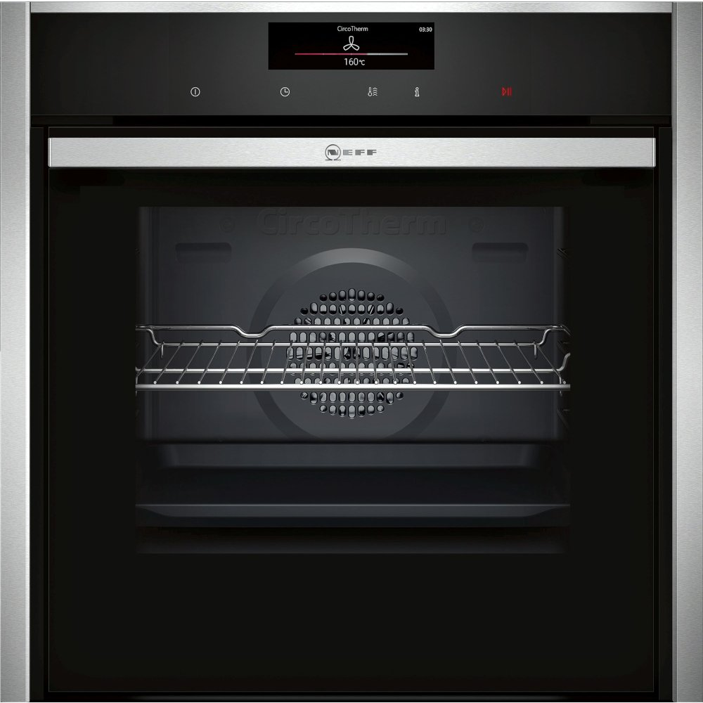 Neff N90 B58CT68H0B Single Built In Electric Oven