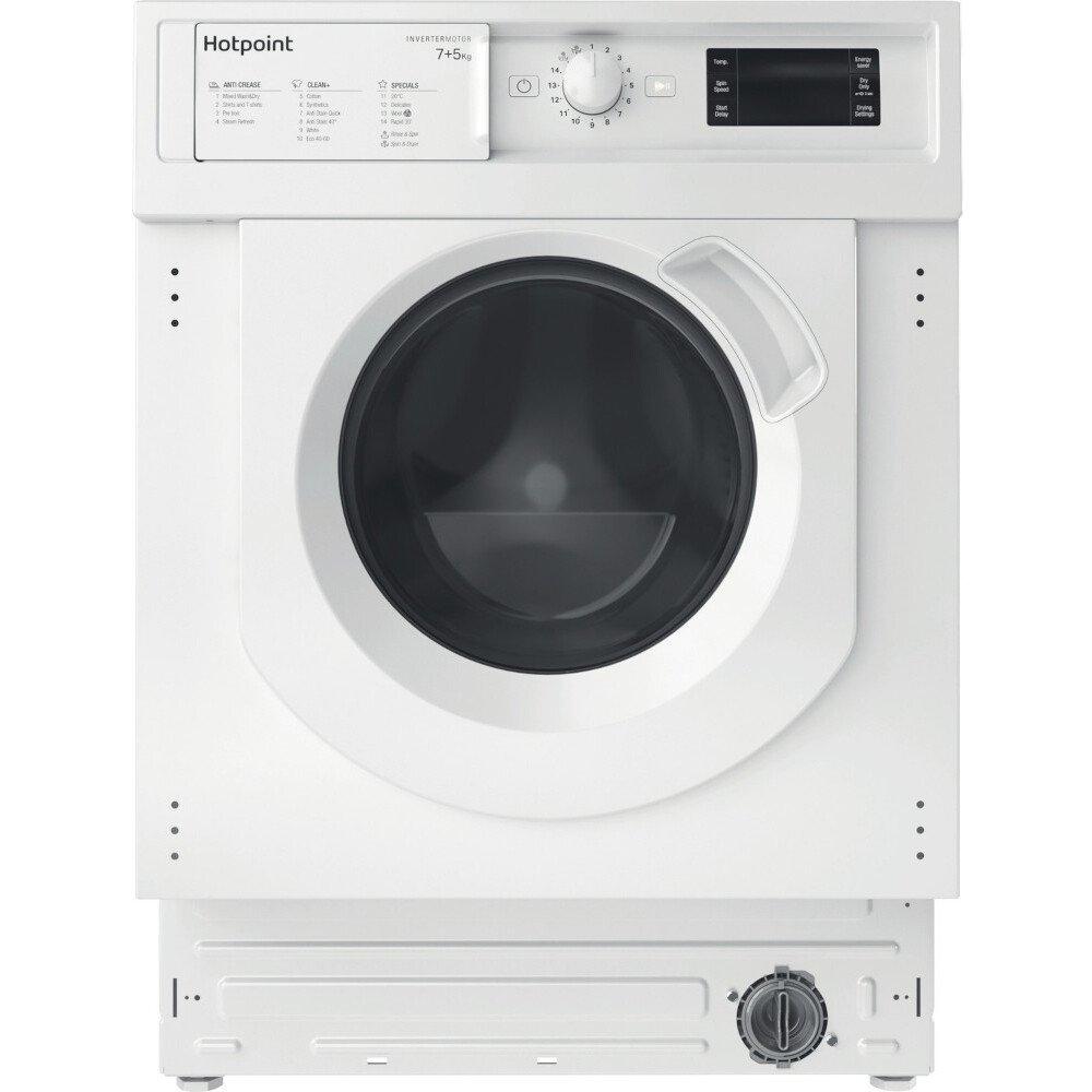Hotpoint BI WDHG 75148 UK N Integrated Washer Dryer