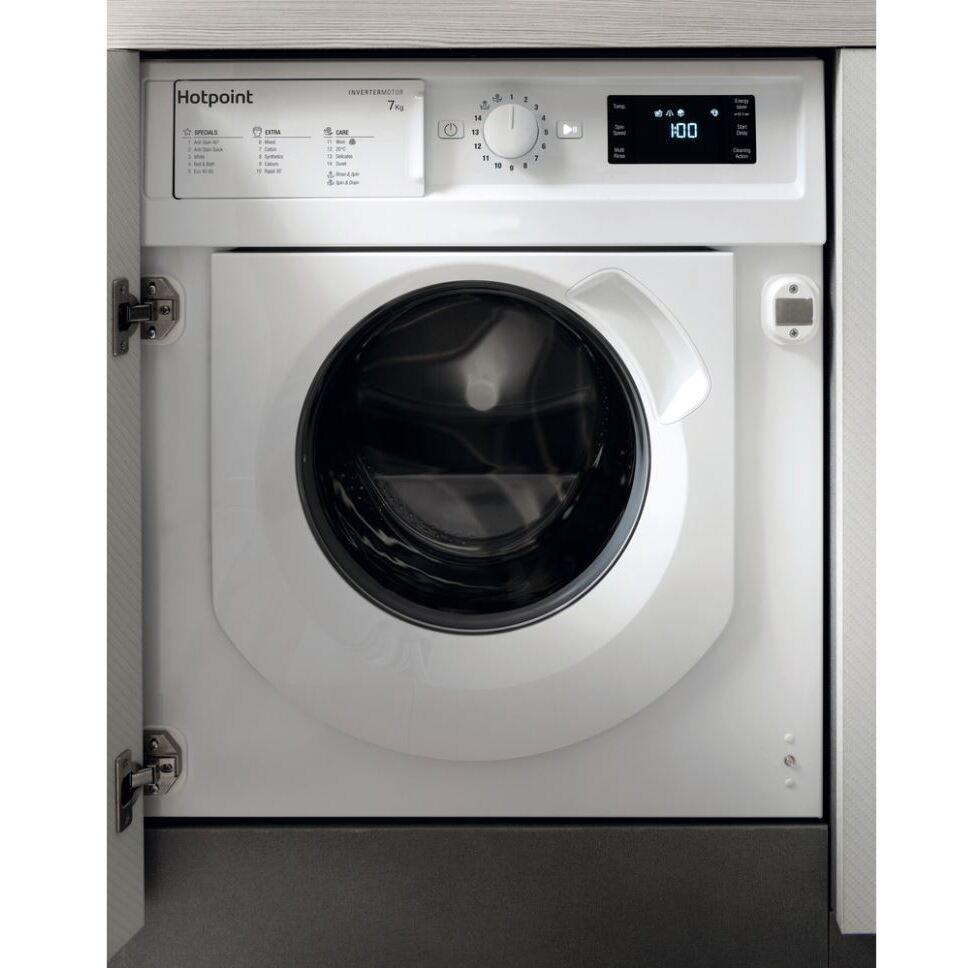 Hotpoint BI WMHG 71483 UK N Integrated Washing Machine