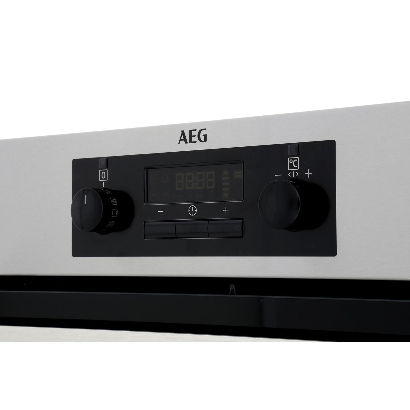 Buy Aeg Bps351220m Single Built In Electric Oven