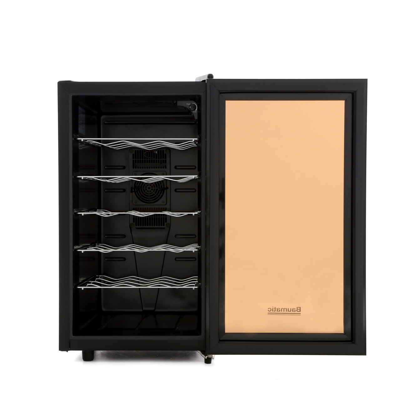 Buy Baumatic Bw18bl Beverage Centre Black And Glass