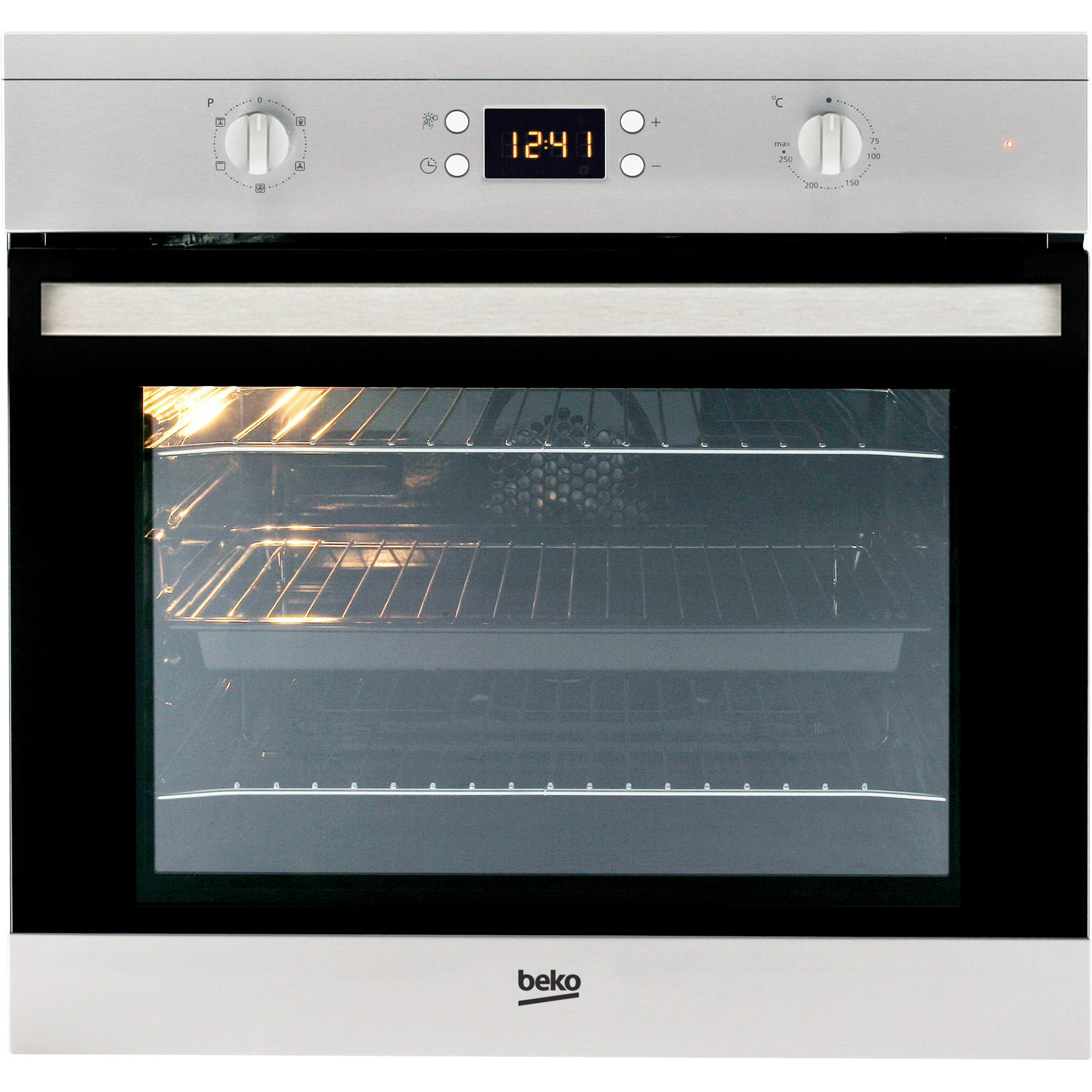 Built In Electric Cooker Part - 27: Beko CIF80X Single Built In Electric Oven