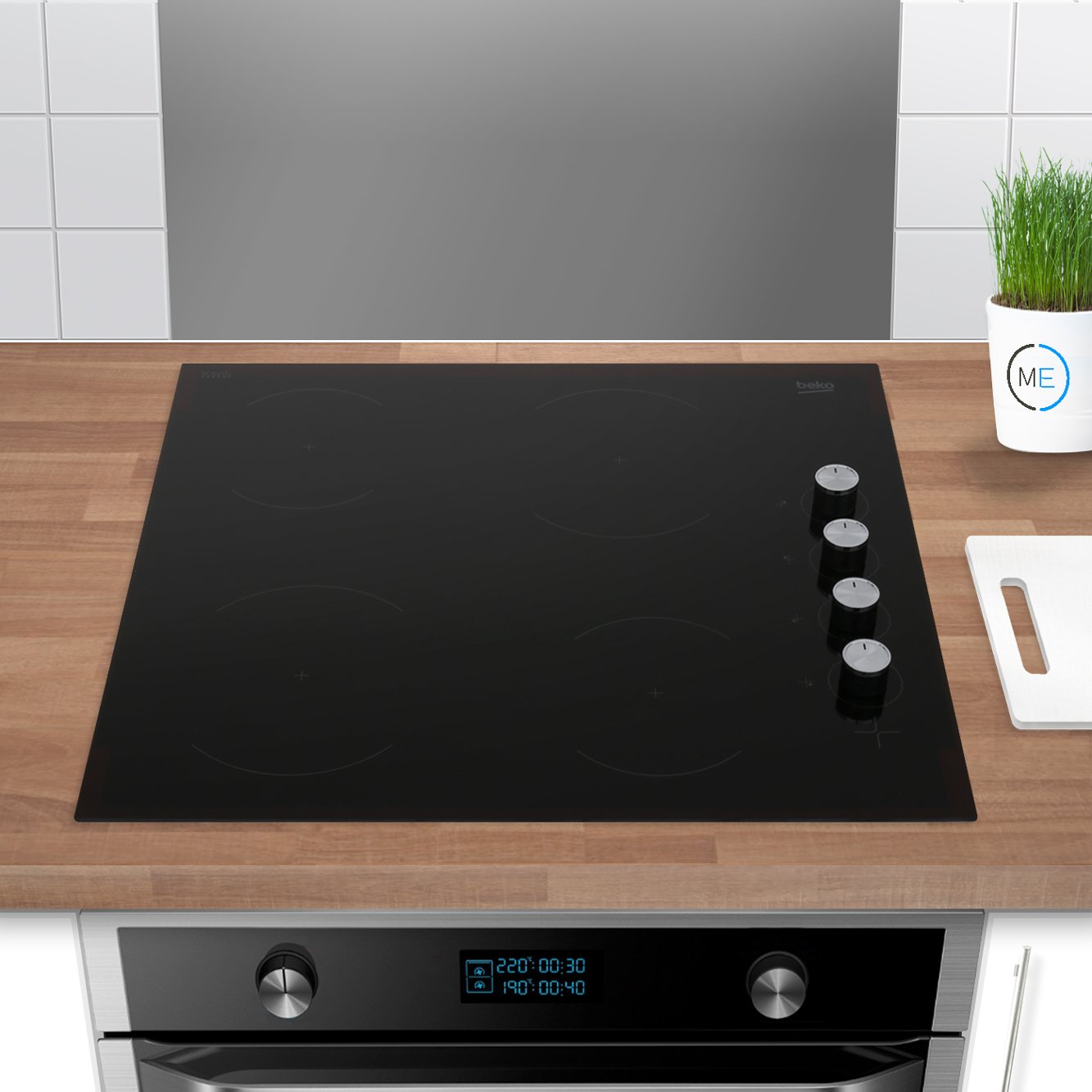 Buy Beko Cihv21b Ceramic Hob Frameless Marks Electrical