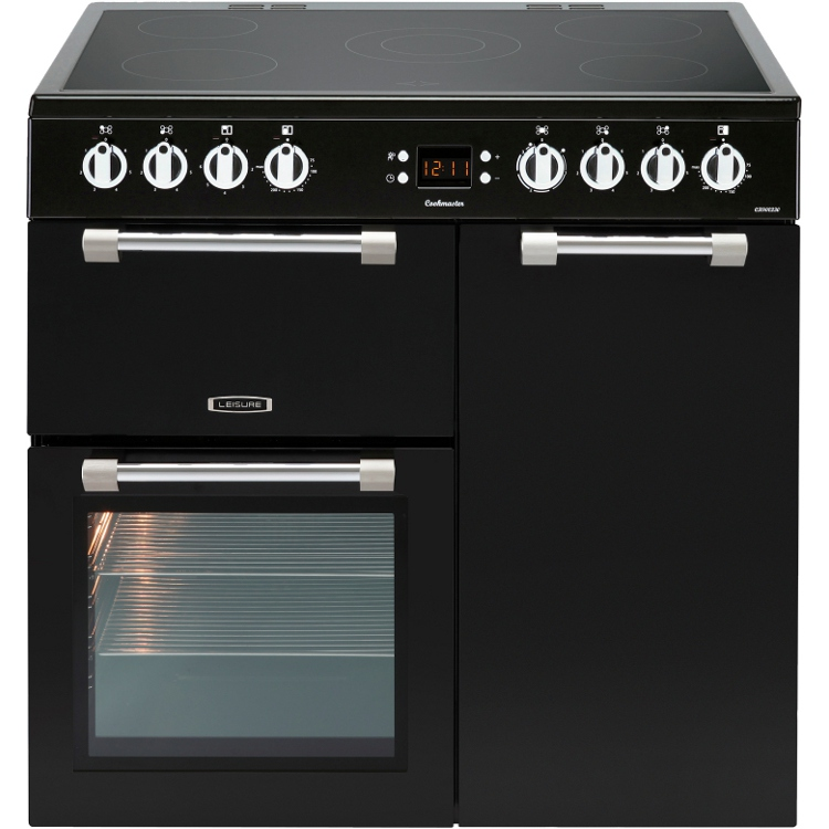 Buy Leisure Cookmaster Ck90c230k 90cm Electric Ceramic