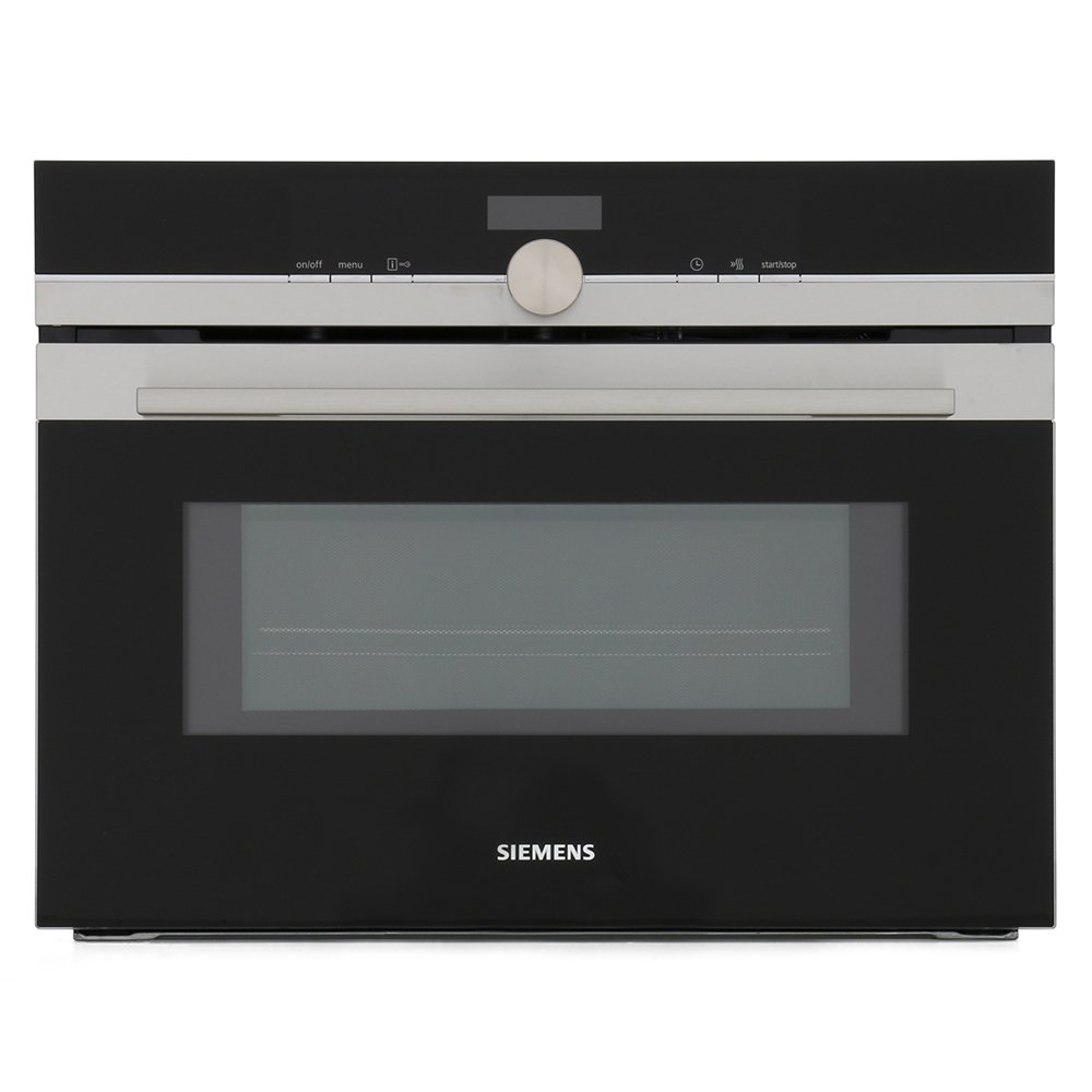 buy siemens iq700 cm633gbs1b compact oven with microwave cm633gbs1b stainless steel marks. Black Bedroom Furniture Sets. Home Design Ideas