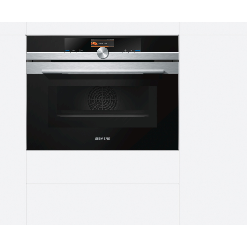 buy siemens iq700 cm656gbs6b compact oven with microwave. Black Bedroom Furniture Sets. Home Design Ideas