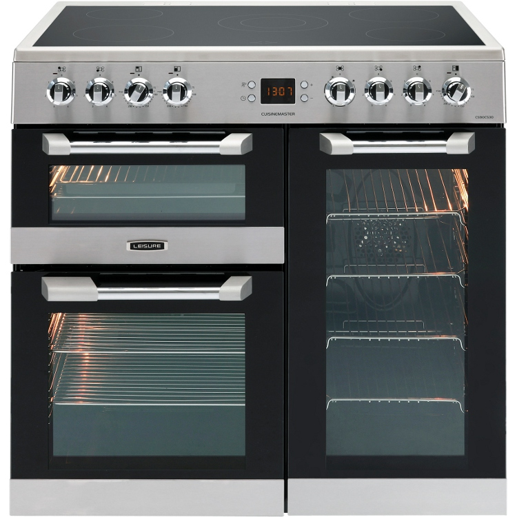 Buy Leisure Cuisinemaster Cs90c530x 90cm Electric Ceramic